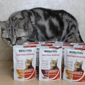Mealfeel корм для кошек