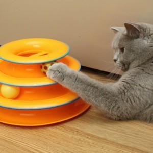 Игрушка для кошек Petstages 3 этажа